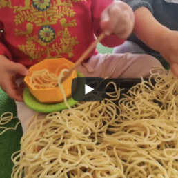 Playing with spaghetti